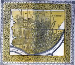 Map Of Northern Ohio by Cincinnati Historical Maps University Of Cincinnati