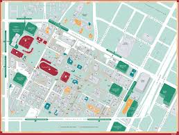 University Of San Diego Campus Map by Csse Directions