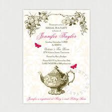 Kitchen Tea Invites Ideas Printable Victorian Tea Party Invitation Garden Tea Party Diy