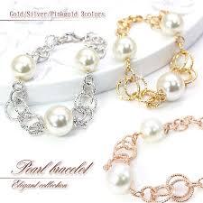 gold silver pearl bracelet images Accessoryshopbarzaz rakuten global market pearl bracelets gold jpg