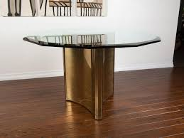 Glass Top For Dining Table Glass Top Pedestal Dining Table Contemporary Pedestal Dining