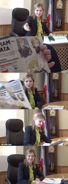 Natalia Poklonskaya Meme - crimea s natalia poklonskaya is flattered by the internet s love for