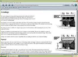 Century Awning Industrial Preservation Brief 44 The Use Of Awnings On Historic Buildings