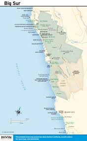 Map Of Washington Coast by Pacific Coast Route Big Sur Village California Road Trip Usa