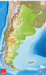 physical map of argentina physical 3d map of argentina satellite outside shaded relief sea