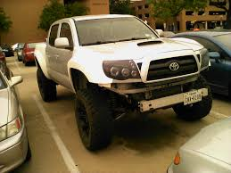 dodge prerunner bumper tacoma with pre runner fenders made my day another pic in comments