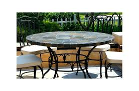 slate outdoor dining table chic slate kitchen table round top slate outdoor stone patio dining