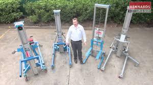 material handling u0026 industrial lift kennards lift u0026 shift heavyweight material hoists youtube