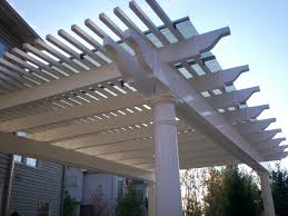 White Vinyl Pergola by Build Vinyl Pergola Diy Diy Pdf Wine Rack Building Materials