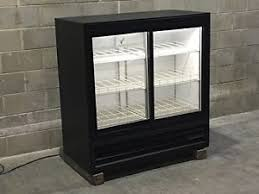 beer refrigerator glass door used beverage cooler ebay
