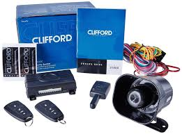 clifford matrix 3105x car alarm security system with keyless entry