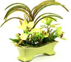 buy custom dining table centerpiece silk floral arrangement