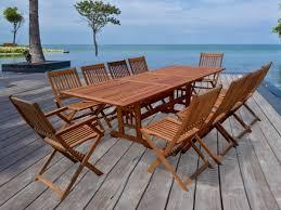 table de jardin haut de gamme stunning table de salon de jardin en bois images amazing house