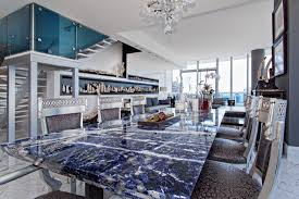 Granite Dining Room Table Contemporary Dining Room Miami - Granite dining room sets