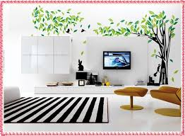 creative wall decorating ideas for living room new decoration