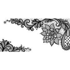 black lace ornament png clipart picture polyvore