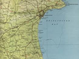 Map Of New England Coast by Bridlington Map