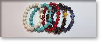 crystal cross bracelet images Crystal bracelets with a cross by crystal passion australia jpg