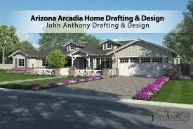 Houses Designs by Custom Arizona Arcadia Home Designs John Anthony Drafting U0026 Designs