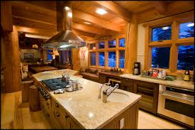 kitchen ideas for log cabin homes great home design