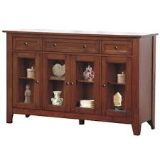 Glass Fronted Sideboards Glass Front Sideboard Wayfair