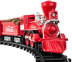 amazon com lionel trains coca cola holiday g gauge train set