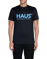 haus golden goose men sportswear sport t shirts dark blue free