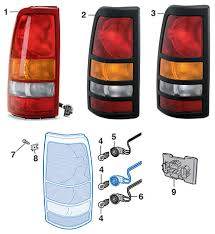 2005 gmc sierra tail lights tail light fleetside 1999 07 gmc sierra lmc truck