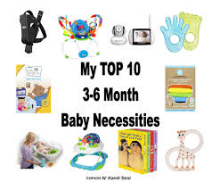 baby necessities top ten baby necessities for 3 to 6 months a cotton kandi