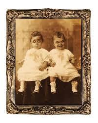 hologram portrait horror twins 38 x 51 cm halloween hologram