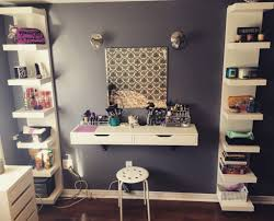 Diy Makeup Vanity Desk Diy Makeup Table Ikea Dressing Desk Photos Hd Moksedesign