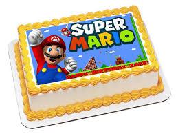 mario cake mario edible cake topper mario edible cupcake