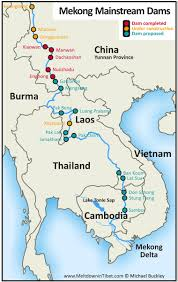 Rivers In China Map Where Is The Mekong River Located On A Map Popular River 2017