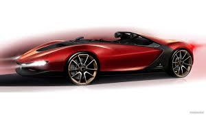 ferrari sergio by pininfarina 2013 design sketch hd