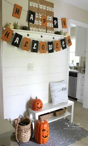 ideas some amazing designs for halloween mantel decoration flat