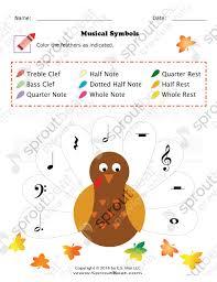 thanksgiving musical symbols