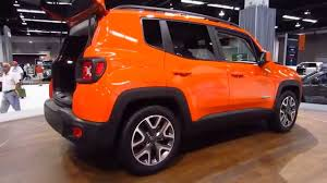 orange jeep new 2016 jeep renegade oc auto show anaheim orange county