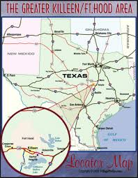 killeen map fort map my