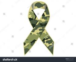 camouflage ribbon camouflage ribbonvector stock vector 413713198
