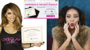 professional makeup school lets talk makeup certification live glam academy alecxa