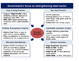 national steel policy 2017 will make the sector vibrant dynamic