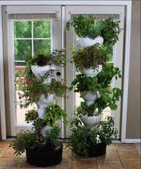 hydroponic garden tower on site soilless gardening for restaurants