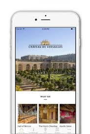 the palace of versailles u0027 new mobile app palace of versailles
