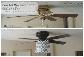 spray paint ceiling fan this yellow house my ceiling fan makeover