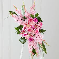 Sympathy Flowers Message - the ftd sweet farewell standing spray