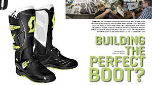off road riding boots building the perfect boot u2013 on track off road magazine