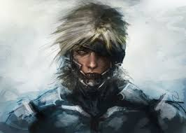 how to paint metal gear solid raiden drawing and digital