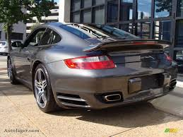 porsche slate grey 2007 porsche 911 turbo coupe in slate grey metallic photo 5