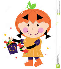 pumpkin costume halloween little cute in pumpkin costume royalty free stock photography