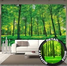 amazon com wallpaper trees wall picture decoration nature pure amazon com wallpaper trees wall picture decoration nature pure landscape forest glade summer relaxation sun plants flora forest ferns paperhanging